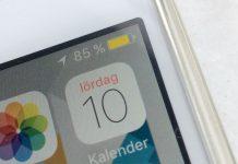 Varför är batterisymbolen - batteriikonen gul på iPhone - iPad