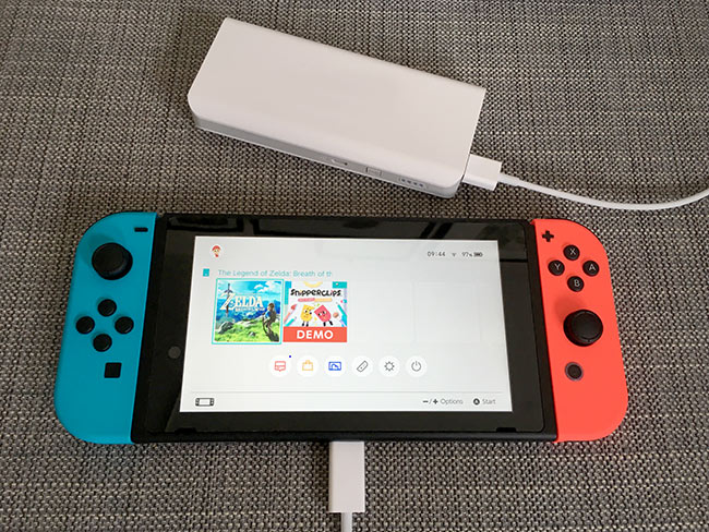 Nintendo Switch - Batteripack - Nödladdare - Powerbank