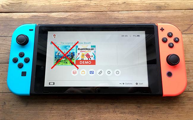 Nintendo Switch - Spela mindre krävande spel - Spara batteri