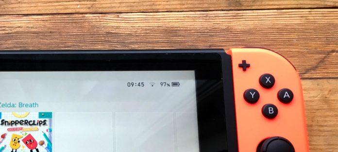 Se batteri i procent - Nintendo Switch - Ikon