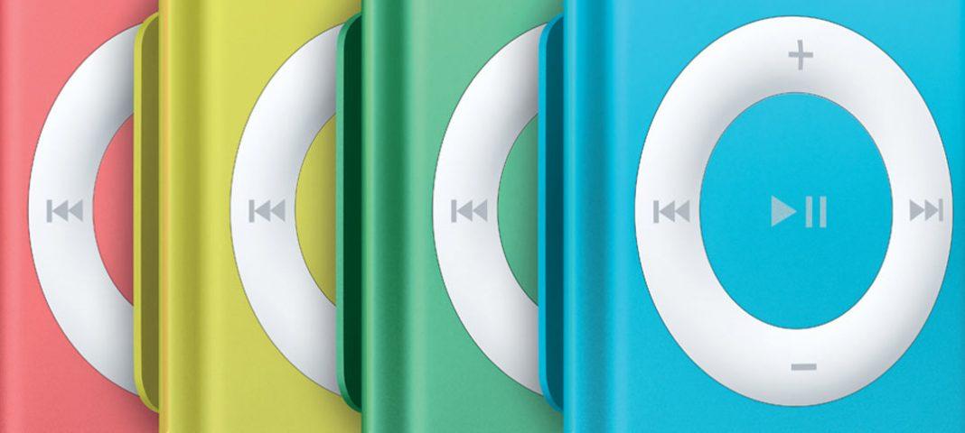 Apple slutar producera iPod Nano - iPod Shuffle
