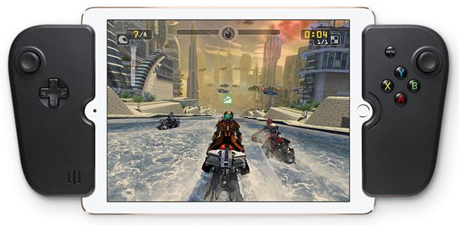 Gamecive - kontroller - iPad - Stämning - Nintendo