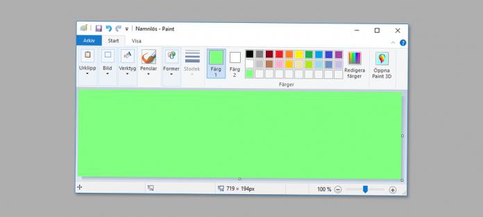 Microsoft Paint försvinner - tas bort - från Windows 10