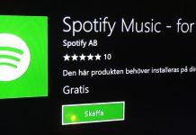 Spotify finns nu till Xbox One