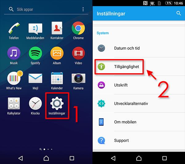 Android - bara ljud från en hörlur - headset