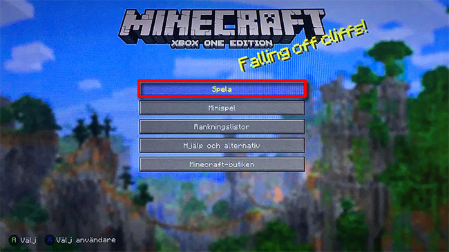 Minecraft - Xbox One - Spela - Importera värld från Xbox 360