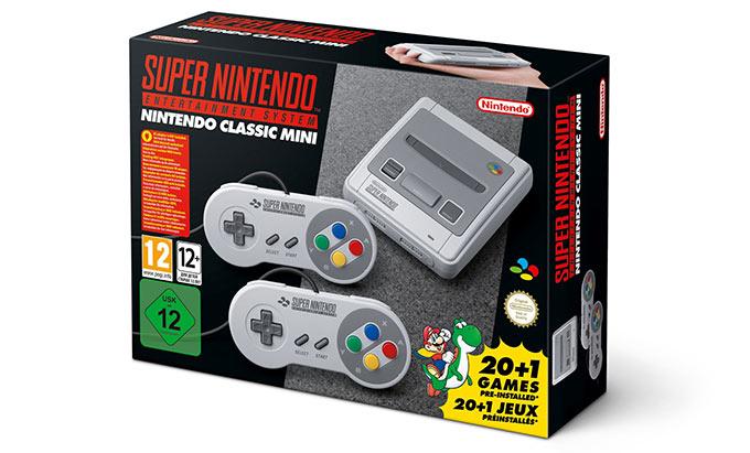 Nintendo SNES - Classic Mini
