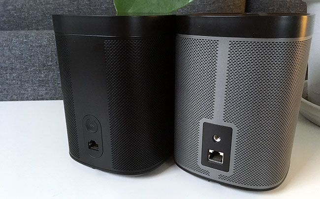 Sonos One - Play 1 - Baksida - Recension