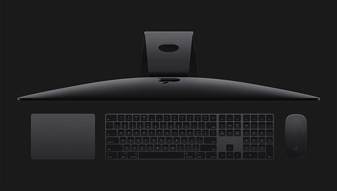 iMac Pro - Space gray - Rymdgrå - Tangentbord - Mus - Touchpad