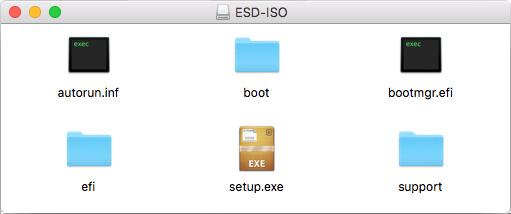 Mac ISO-fil - Öppnad - Monterad