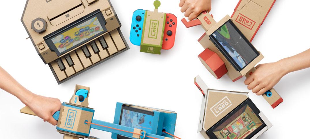 Nintendo Labo - Kartongtillbehör till Nintendo Switch