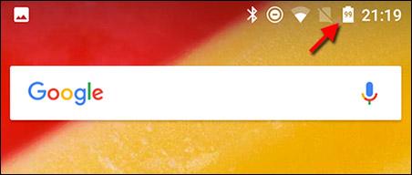 Android - Visa batteri-procent hela tiden - Ikon