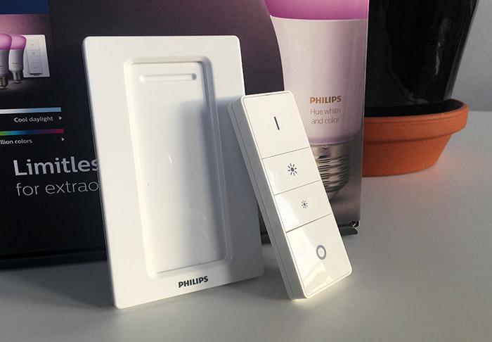 Philips Hue - Dimmer - Fjärrkontroll - Knapp