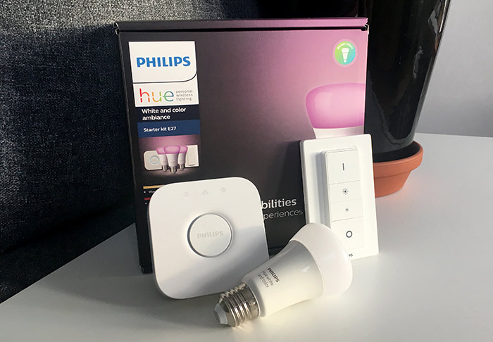 Philips Hue - Starter Kit E27 - Recension - Startkit