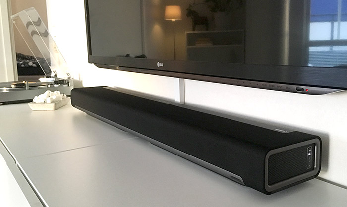 Sonos Playbar - Recension - Test - Under TV