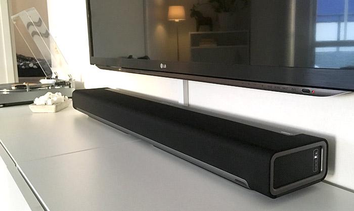Sonos Playbar - Recension - Test - Under TV