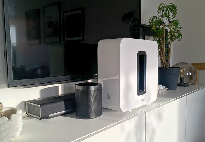 Sonos SUB - Recension - Playbar - One