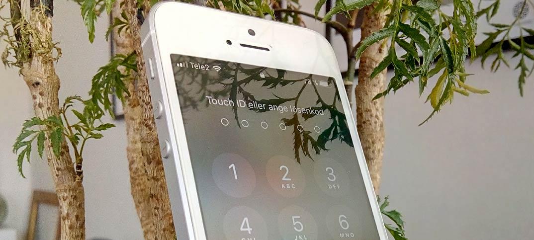 Stäng av låsljud - Skärm - iPhone - iPad