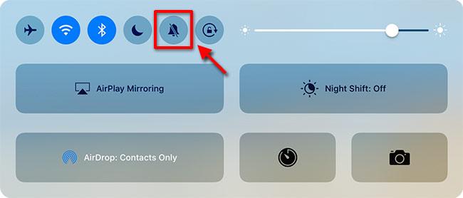 iPad - Ljudlös utan knapp på sidan - Meny