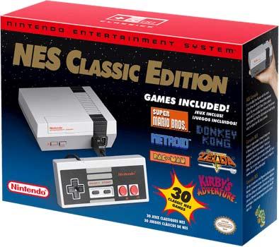NES Classic Mini - Box - Kartong - 2018 - Släpps igen