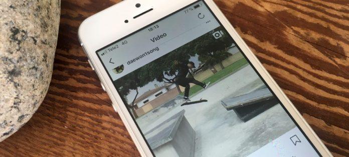Aktivera - Stäng av - Automatisk uppspelning av video Facebook Instagram