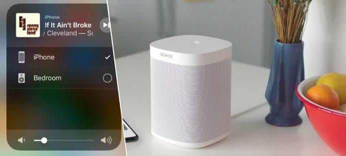 Sonos lanserar Apple AirPlay 2