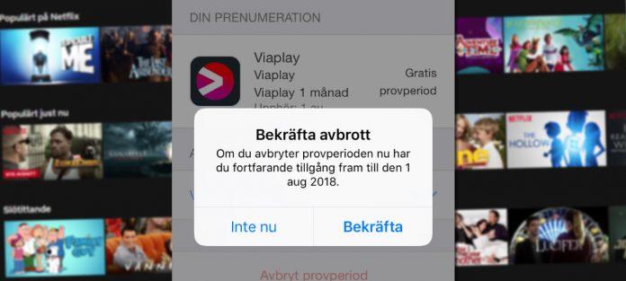 Ta bort - Avsluta - Prenumerationer på iPhone och iPad