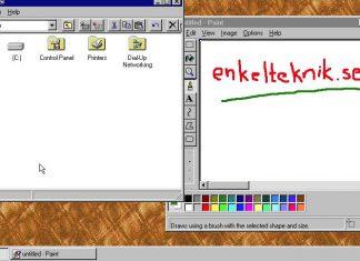 Windows 95 på Windows 10 och macOS