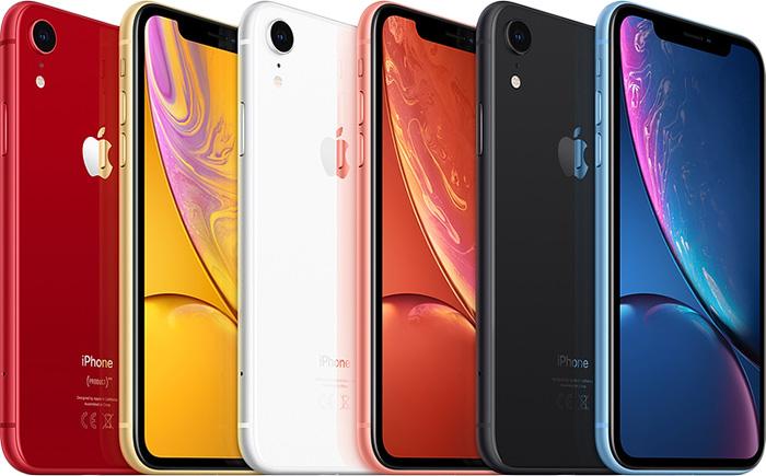Apple iPhone XR - Olika färger