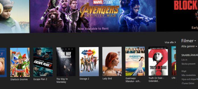 Apple kan och får radera inköpta iTunes-filmer