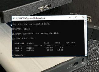 Använd DiskPart för att formatera en trasig hårddisk