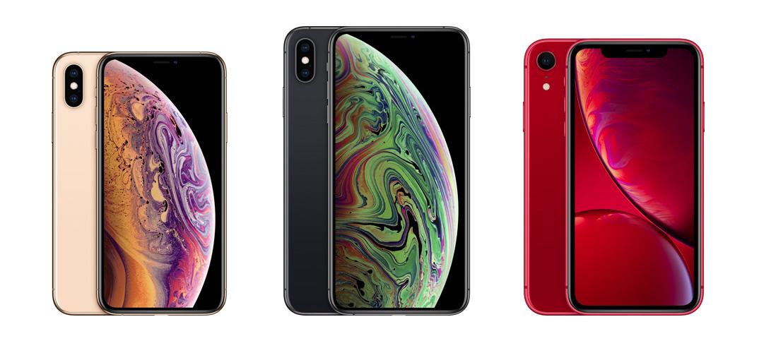 Apple lanserar iPhone XS Max - iPhone XS och iPhone XR