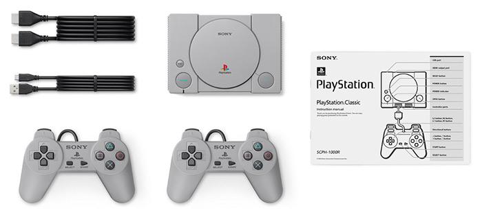 PlayStation Classic - Tillbehör - Kontroller - HDMI