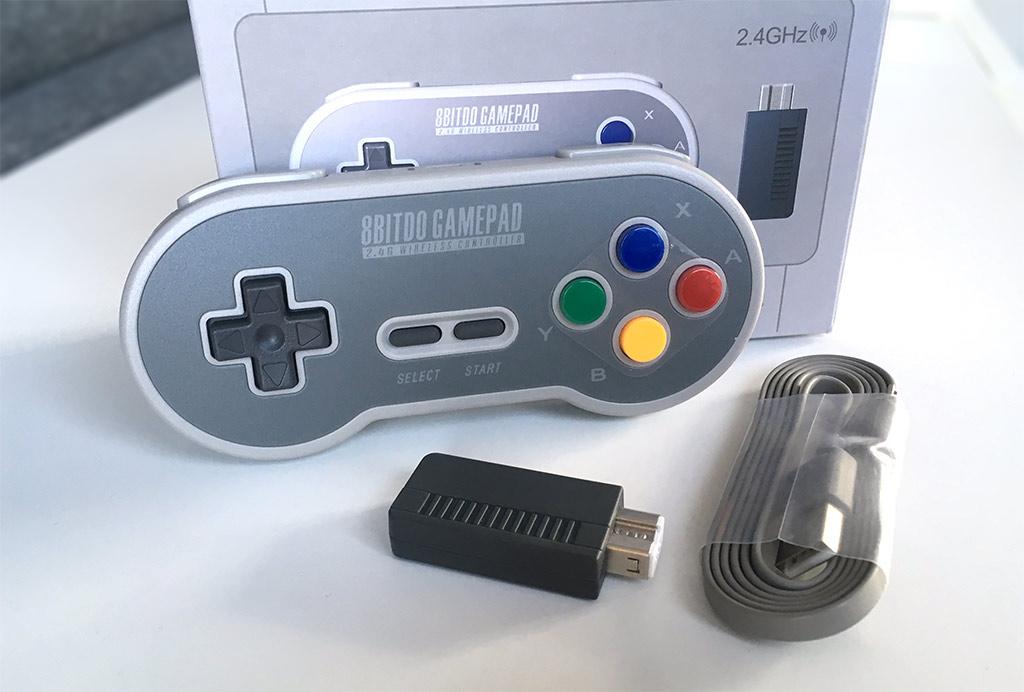 8BitDo - SF30 - SNES Classic Mini - Kontroll - Tillbehör