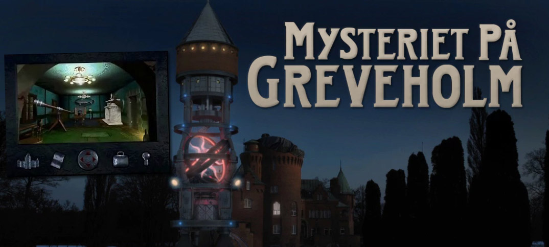 Mysteriet på Greveholm - PC-spel - Ny version