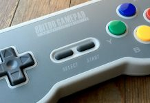 SF30 - 8BitDo - Trådlös - SNES Mini - Recension - Test