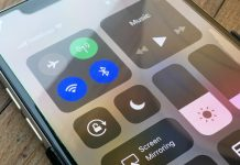 Stäng av Wi-Fi och Bluetooth på iPhone - iPad