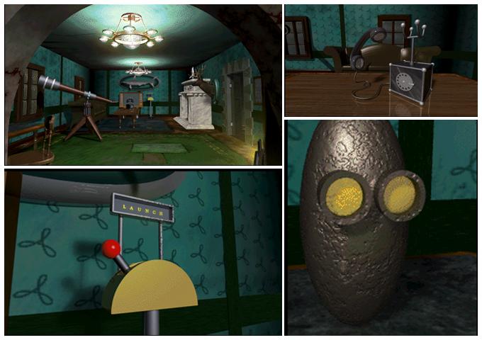 Mysteriet på Greveholm - PC-spelet - Bilder