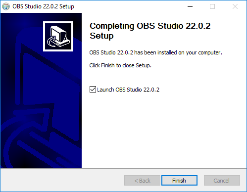 OBS Studio - Installerat - Windows