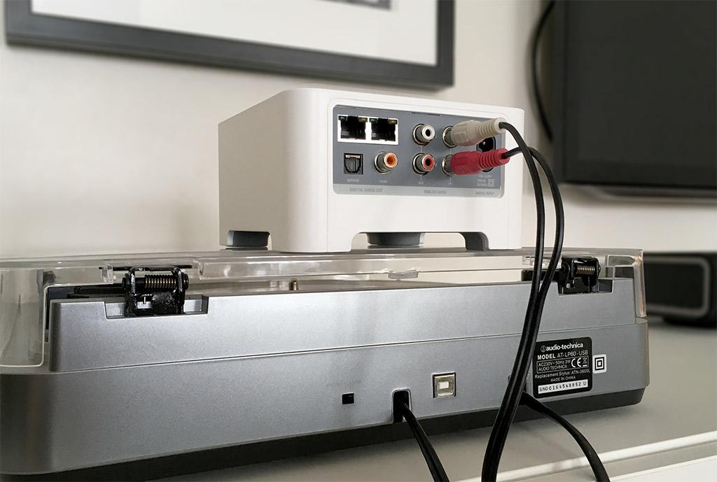 Skivspelare - Vinyl - LP - Sonos - Koppla in