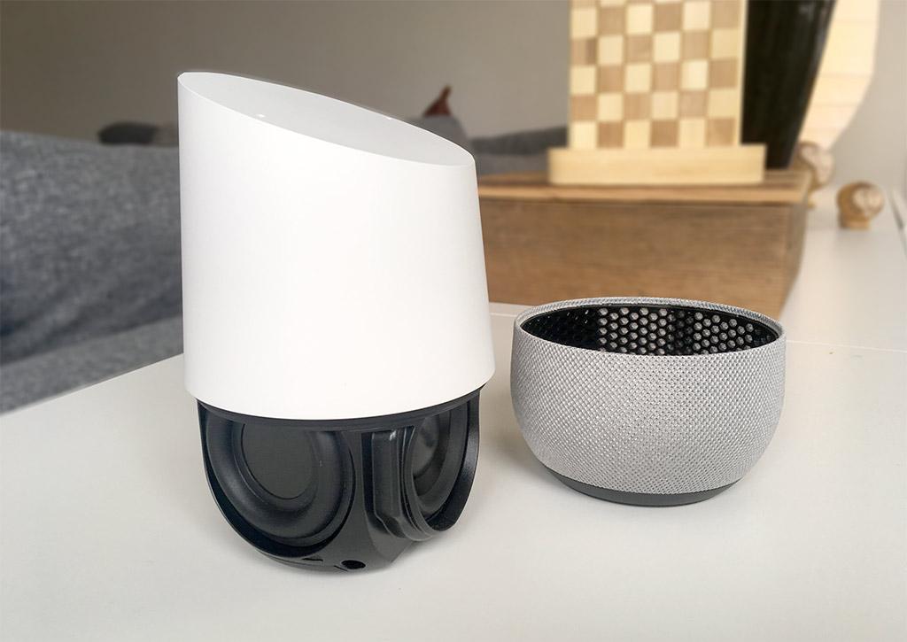 Google Home - Insida - Ta bort botten