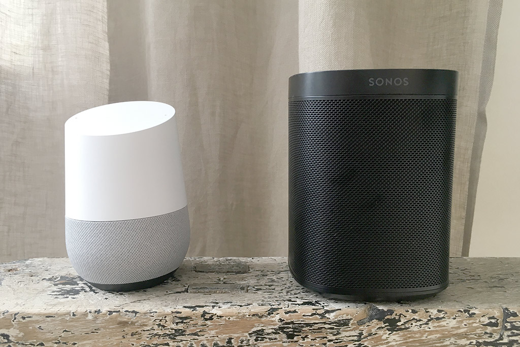 Google Home - vs - Sonos One - Recension