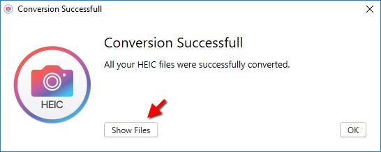 Gör om HEIC till JPEG - Hur