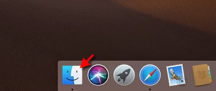 macos - Starta Finder - Dock