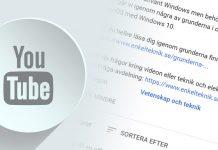 Lägg till länkar i din YouTube-video