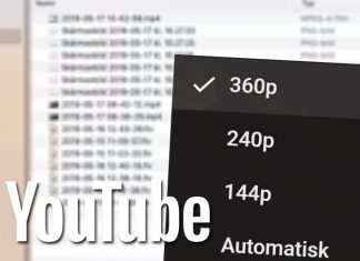Varför blir YouTube-video bara 360p