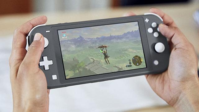 Nintendo Switch Lite - Bärbar konsol