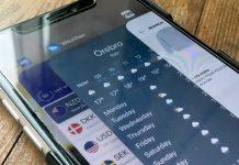 Avsluta appar - Appöversikt - iPhone X - iPhone XS