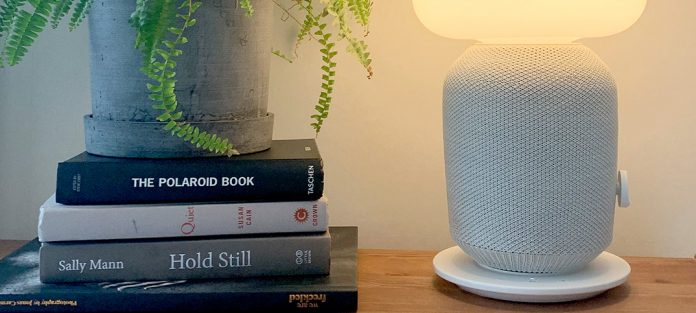 IKEA - Sonos - Symfonisk - Bordslampa-högtalare