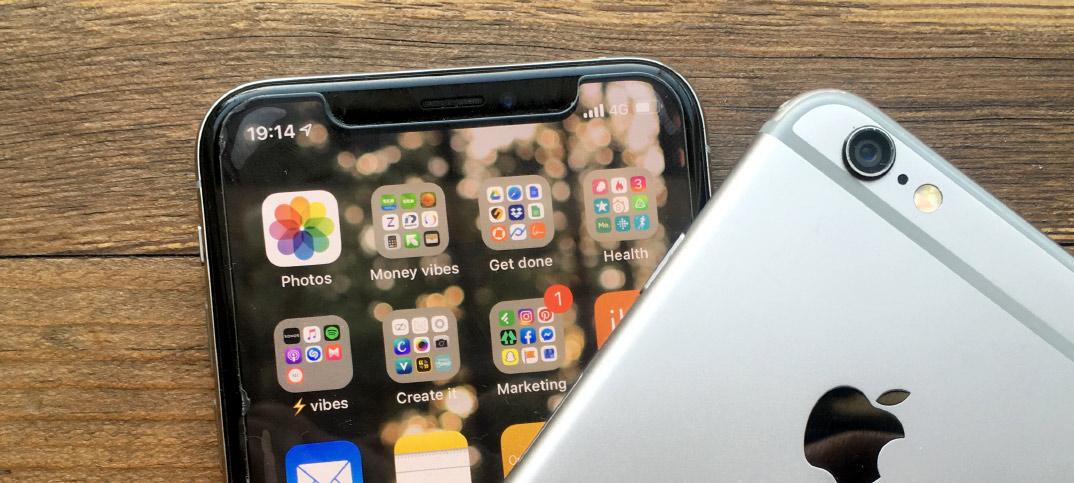 Se vilken iPhone-modell man använder